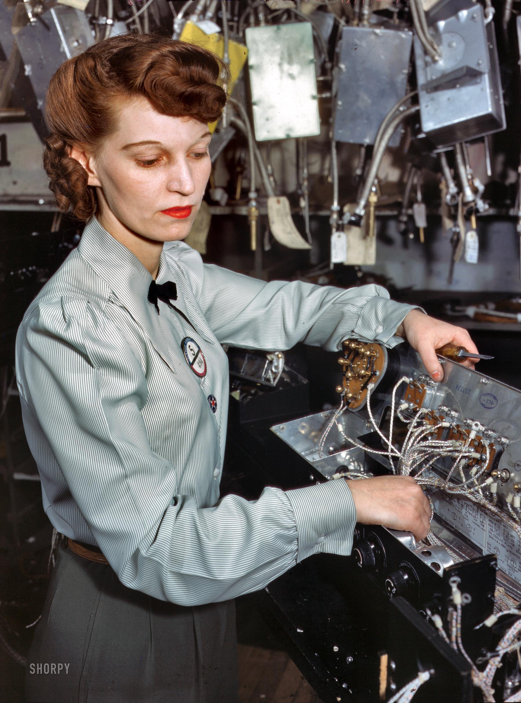 Прически женские военных лет