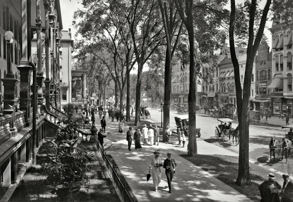 Saratoga Springs, NY. 1915.