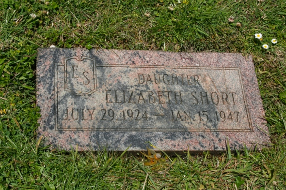 this is the final resting place of Elizabeth Short, also known as The Black Dahlia.