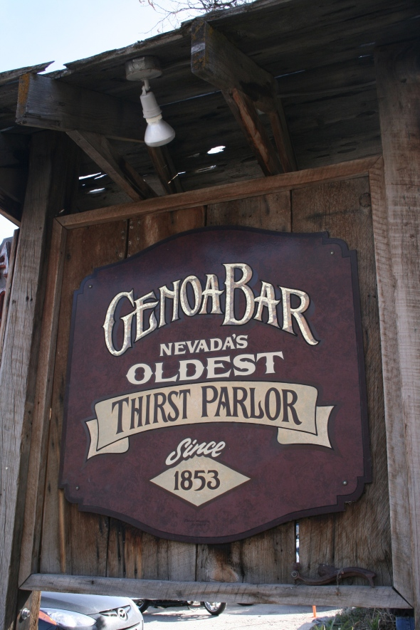 Genoa Bar sign