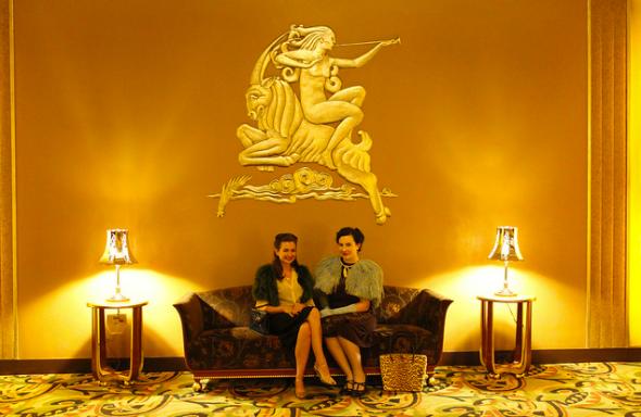 Paramount waiting room