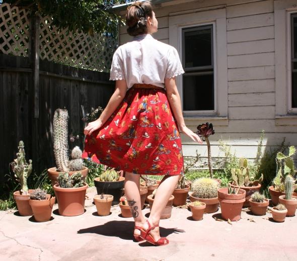 western skirt