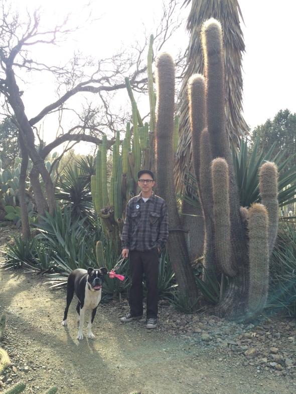 Derek & Herby at Ruth Bancroft Garden